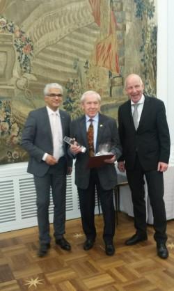 Ehrenpreis für Egon Pieper